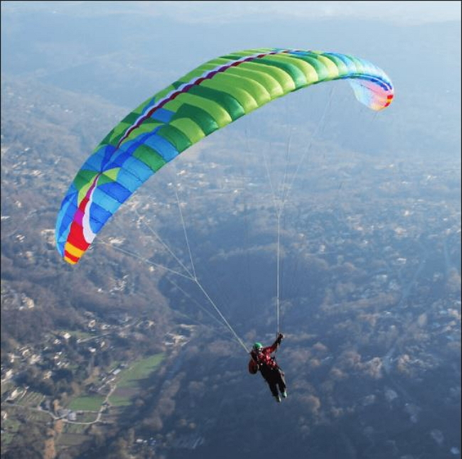 Adventure of Paragliding