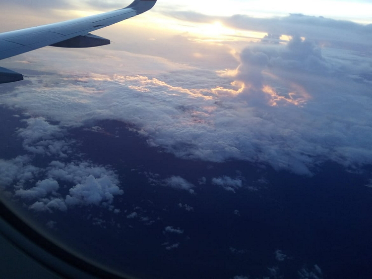 Amezing moment to see from the Air