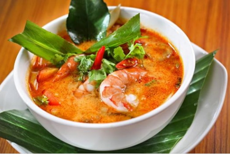 Beautiful colour of Thai curry