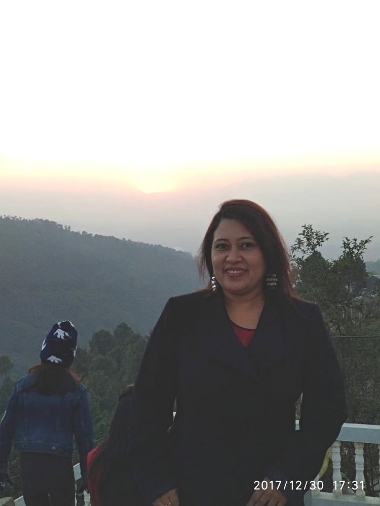 Golden moment of Sunset at Nagarkot
