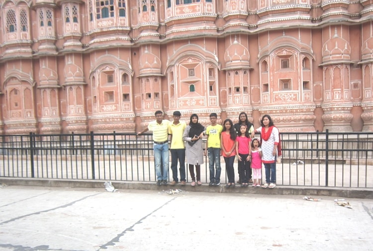 Attraction of Pink City at Rajasthan