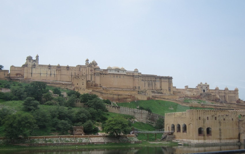 The beautiful Amber Fort is the most amazing