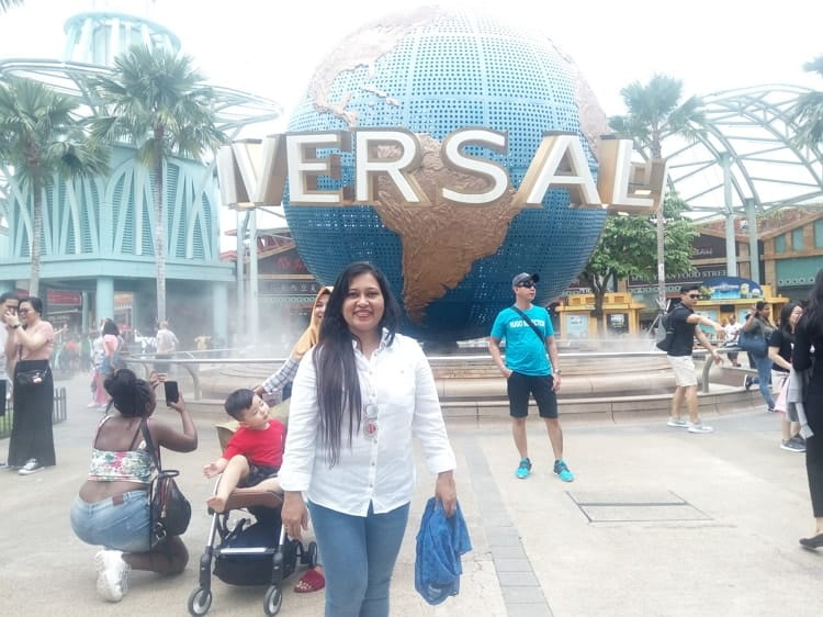 Beauty of place at Universal Studios, Singapore