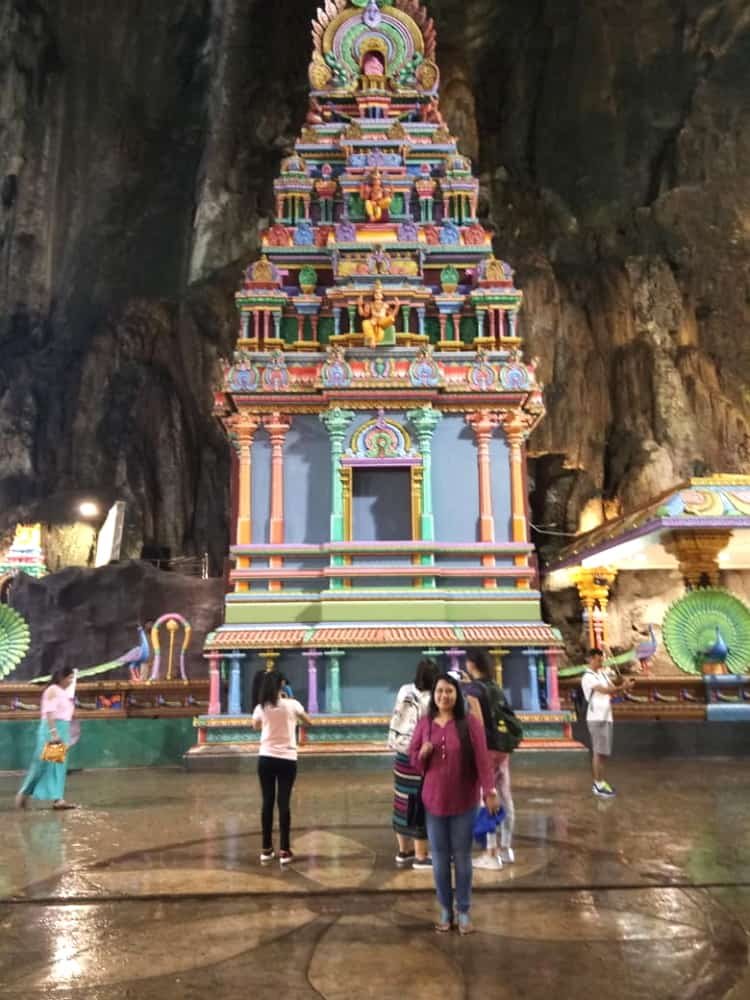 Batu Caves is the point of convergence of the yearly Hindu celebration of Thaipusam
