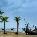 Best Popular Sandy Sea Beach Visit To Travel Cox's Bazar In Bangladesh