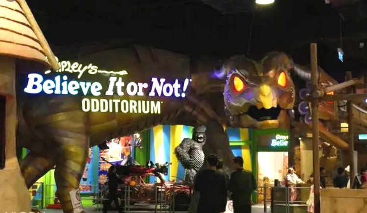 Ripley's Believe It or Not exhibition hall Genting Highlands