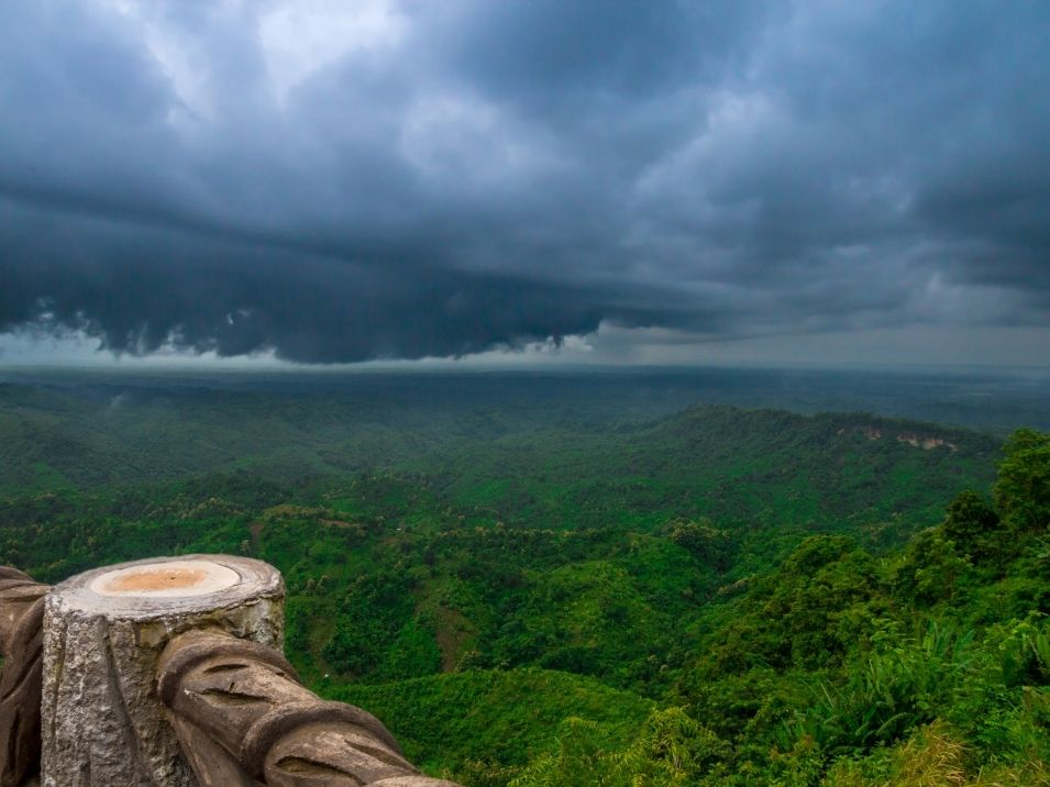 Bandarban hill district is the most tourist spot in Bangladesh
