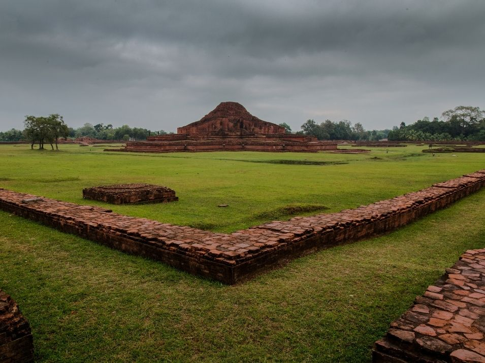 Paharpur is the most spectacular monument tourist spot in Bangladesh