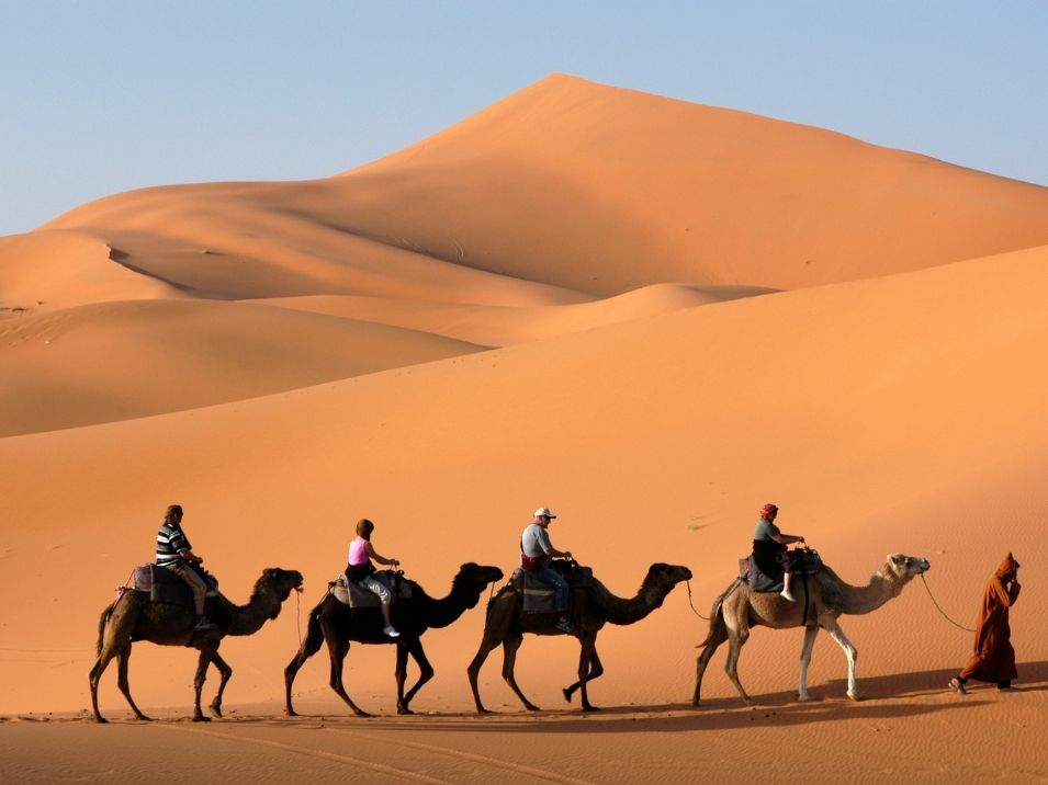 visit the Sahara Desert 10 days in Morocco is the best viable option